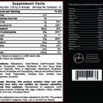 Meso Factor supplement facts
